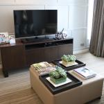 Living Room of the newly renovated Ascott Makati (2-Bedroom Suite)