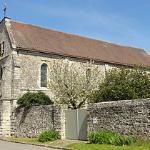 L'église de Montépilloy près des chambres d'Elisabeth