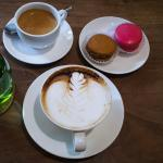Coffee and Macaroon is a must try.