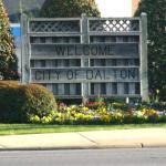 Dalton Welcome Sign