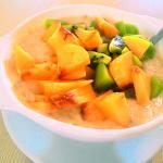 каша с фруктами (завтраки)