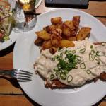 Hessisches Schmandschnitzel - lecker :))
