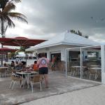 Bar-snackbar a la plage