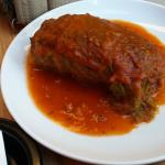 the owners wife makes the cabbage Rolls