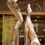 Who Rescued Who, Lorri Acott sculptor