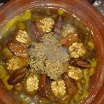 "Tagine with ""fresh food of the day and a little love"""