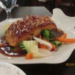 Salmon and Vegetables in Tamarind Sauce