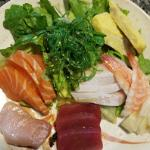 Chirasi Lunch Order from Nishiki Sushi