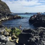 Fantástico! Experiência imperdível onde as aguas do Atlantico se fundem com as correntes quentes