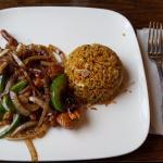 Spicy Chicken with Pork Fried Rice