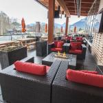 Year Round Heated Patio with view of the Chief!