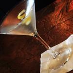Small, quaint restaurant, good martinis!