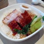 Roast pork + duck rice