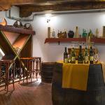 Wine cellar testing room.