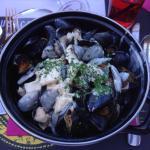 Les moules du restaurant de l'Alaska