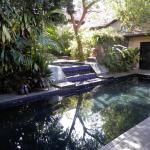 Courtyard spa and pool