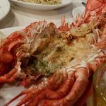 Taragon butter lobster