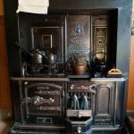 Tenement House kitchen range