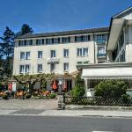 Interlaken - Restaurant Veranda und Stübli in Unterseen - street view