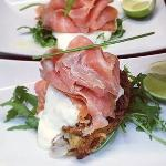 Smoked Salmon and Potato Rosti