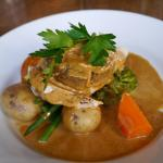 Chicken mains at Mabie House Hotel