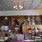 Lounge bar at Mabie House Hotel