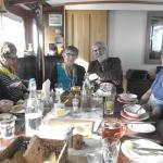 Derek & Gill at head of table