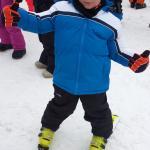 Mi pequeño de 5 años listo para debutar