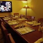 The Alcove in the Restaurant, serves 4 to 20 people