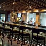 Bar shot from inside the restaurant