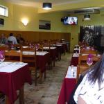 Inside restaurant