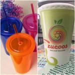 Nuestros vasos son de polipapel reciclables