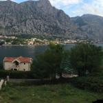 View from our bedroom over Bay of Kotor