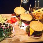 Degustazione tris di hamburger