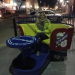 The Tilt-A-Whirl in downtown Faribault!
