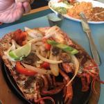 Lobster fajitas!!!