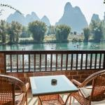 Guest balcony view - Yangshuo Mountain Retreat