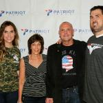 Taya Kyle and Marcus Luttrell