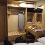 The closet in Room 141