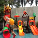 New small waterpark for kids
