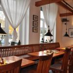 Interiér restaurace Gourmet