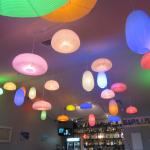 Colorful light fixtures