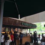 Starbucks (WuCai Cheng) 1 Inside Dreamport Mall right near an entrance