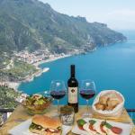light lunch in terrazza