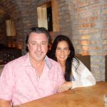 ROSARIO CASSATA AND CAROLYN AND AT CIBO FOR DINNER COARL GABLES, FL