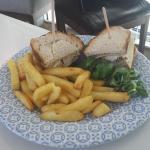 A cold & tasteless Club Sandwich