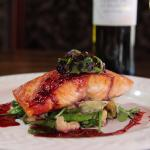 Salmon with Berries Sauce