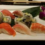 Great sushi dishes at Mirakuya