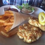 Maryland Lump Crab Cakes & Old Bay Fries