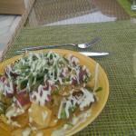 Ahi nachos